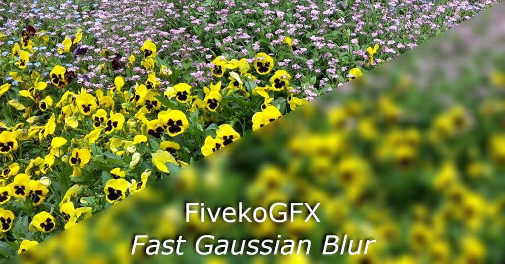 fivekogfx fast gaussian blur thumb